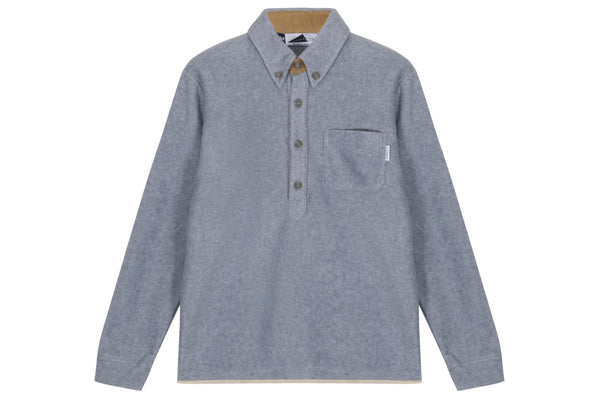 Anglozine Brook Button Down Fleece
