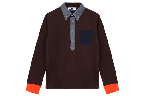 Anglozine Brook Fleece Polo
