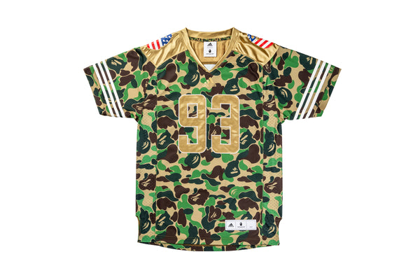 Adidas Football Jersey x Bathing Ape