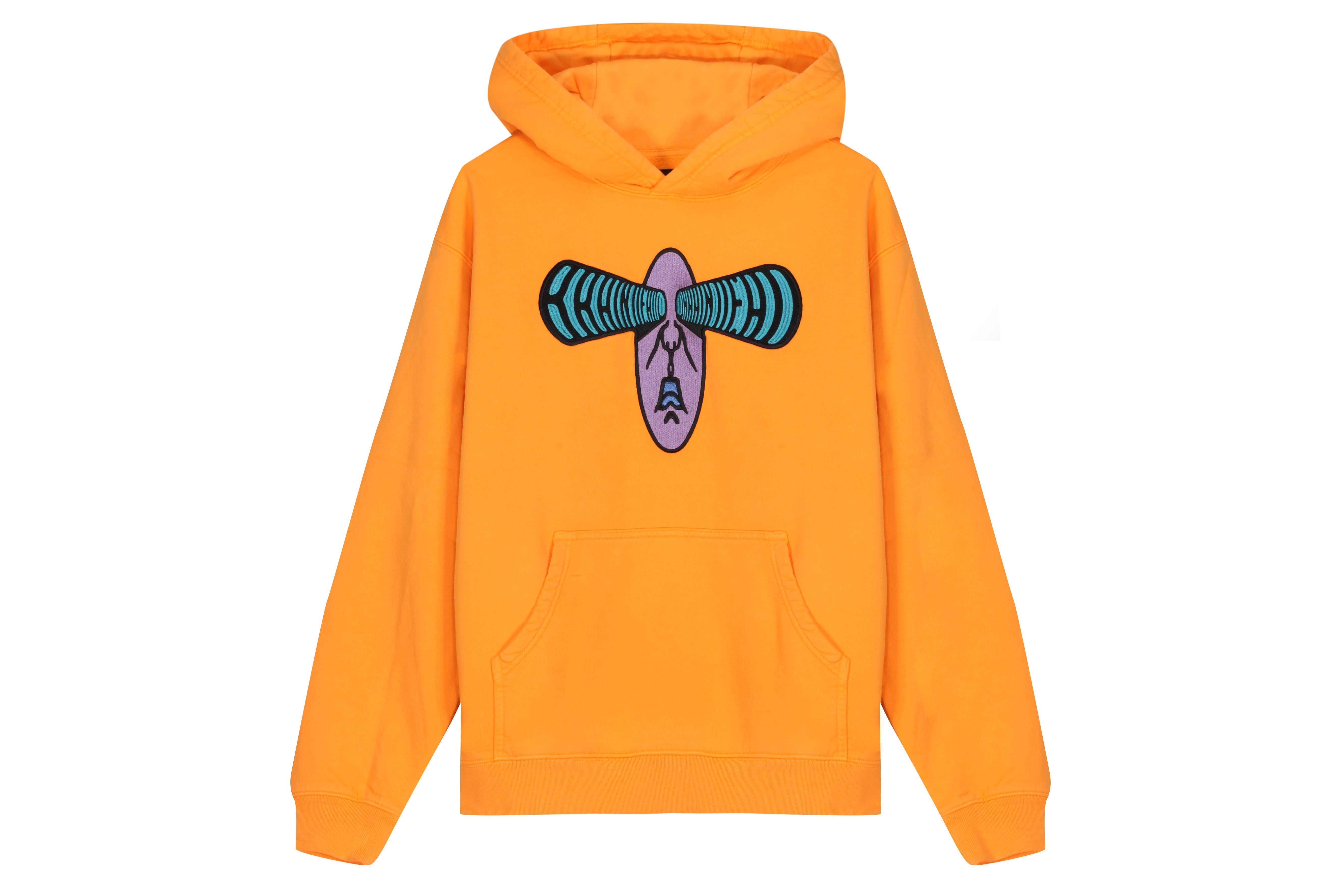 Braindead Bulging Emroidered Hooded Sweatshirt