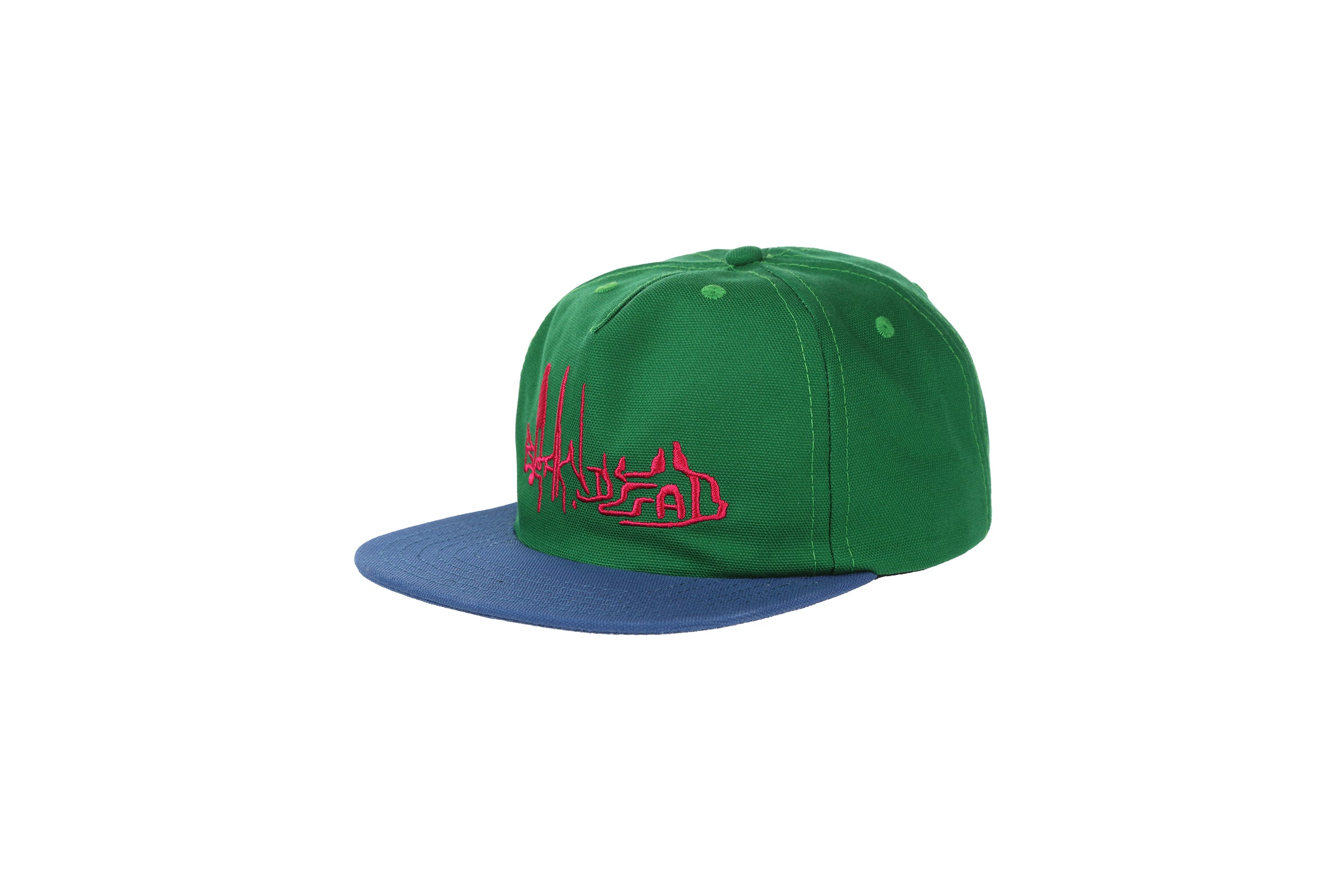Braindead Distorted Text Five-Panel Strapback