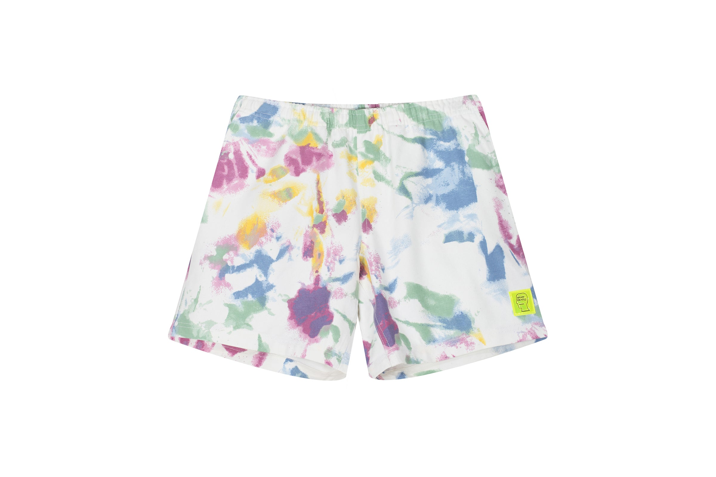 Braindead Reflective Logo Head PVC Beach Short