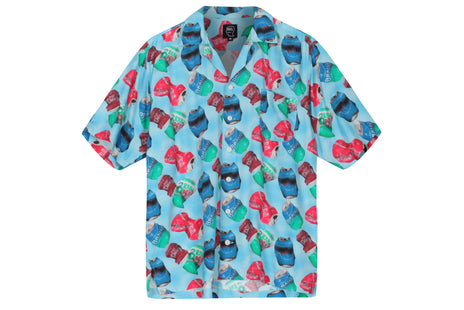 Braindead Aaron Jupin Cans SS Hawaiian Shirt