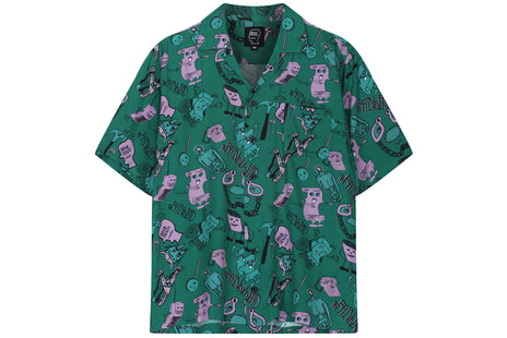 Braindead Caricatures SS Hawaiian Shirt