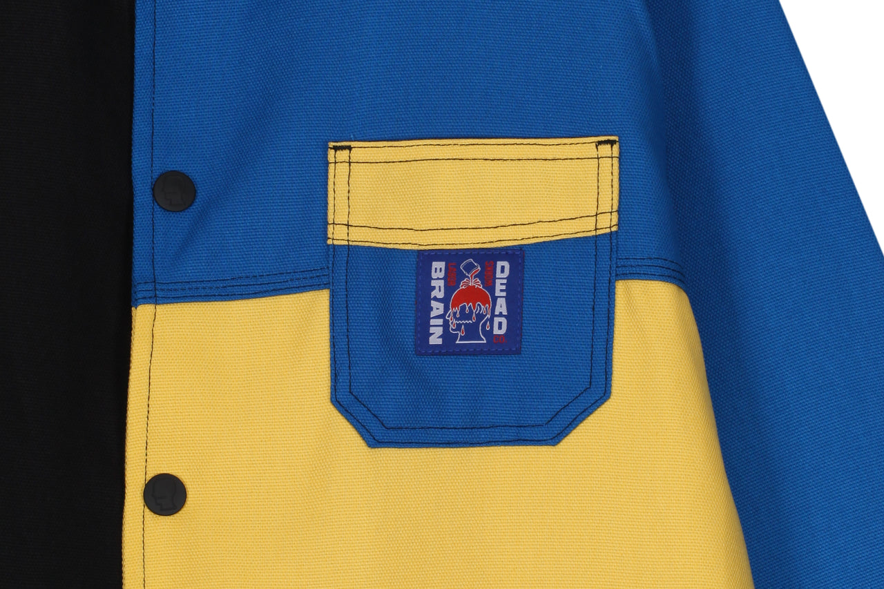 Braindead Colorblocked Canvas Chore Coat
