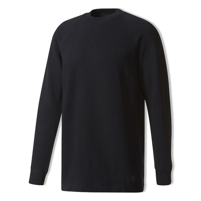 Adidas Double Waffle Knit LS Crew x Wings & Horns