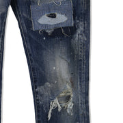 Clot x Vanquish Damaged Skinny Fit Denim