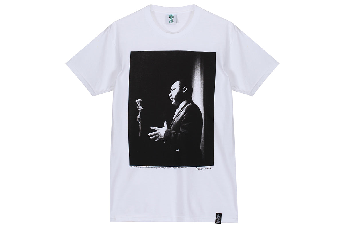 Creation Martin Luther King Tee x Peter Simon