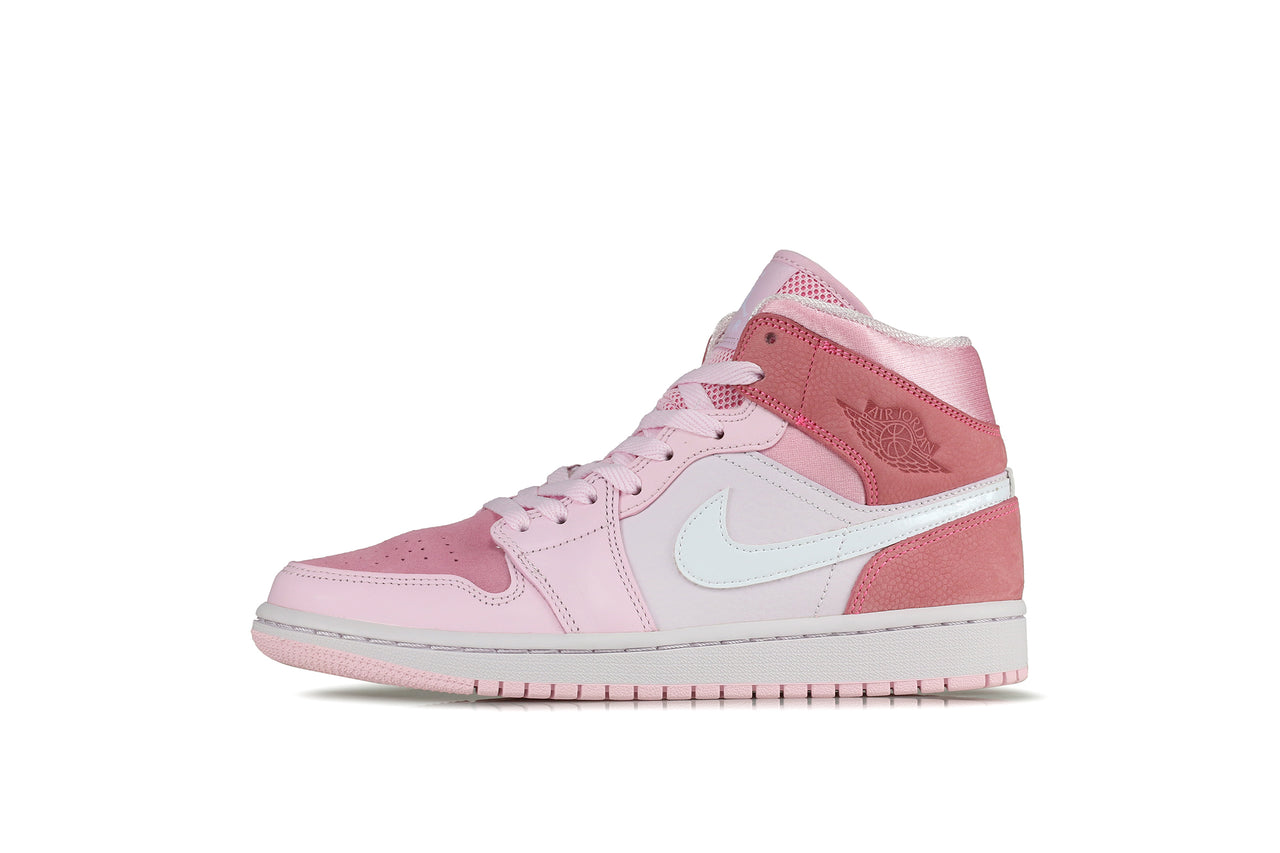 "Nike Womens Air Jordan 1 Mid ""Digital Pink"""
