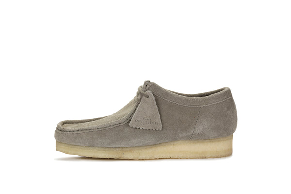 "Clarks Wallabee ""Grey Suede"""