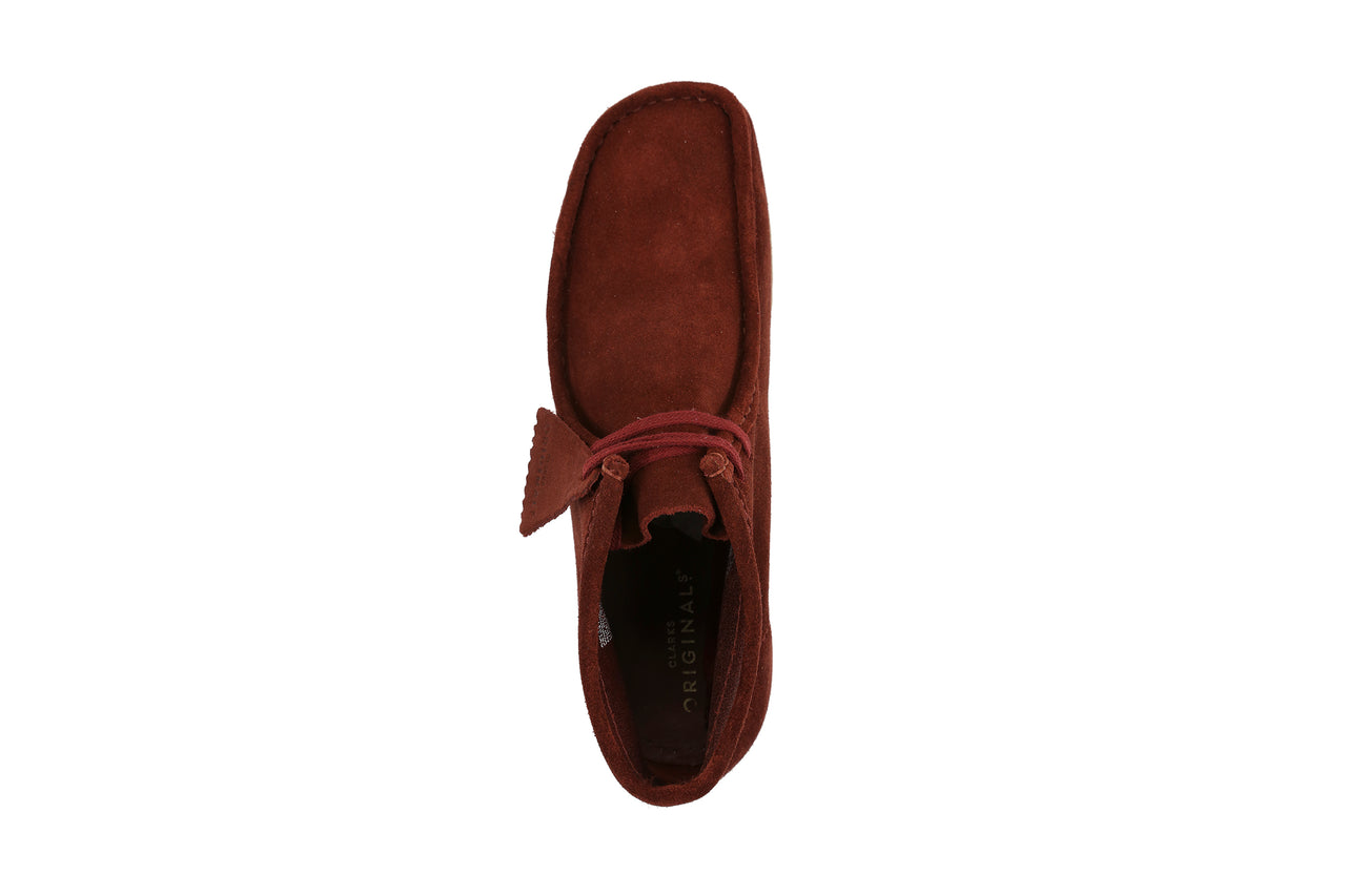 "Clarks Wallabee Boot ""Nut Brown Suede"""