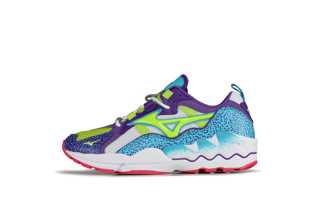 mizuno wave rider 18 lime punch