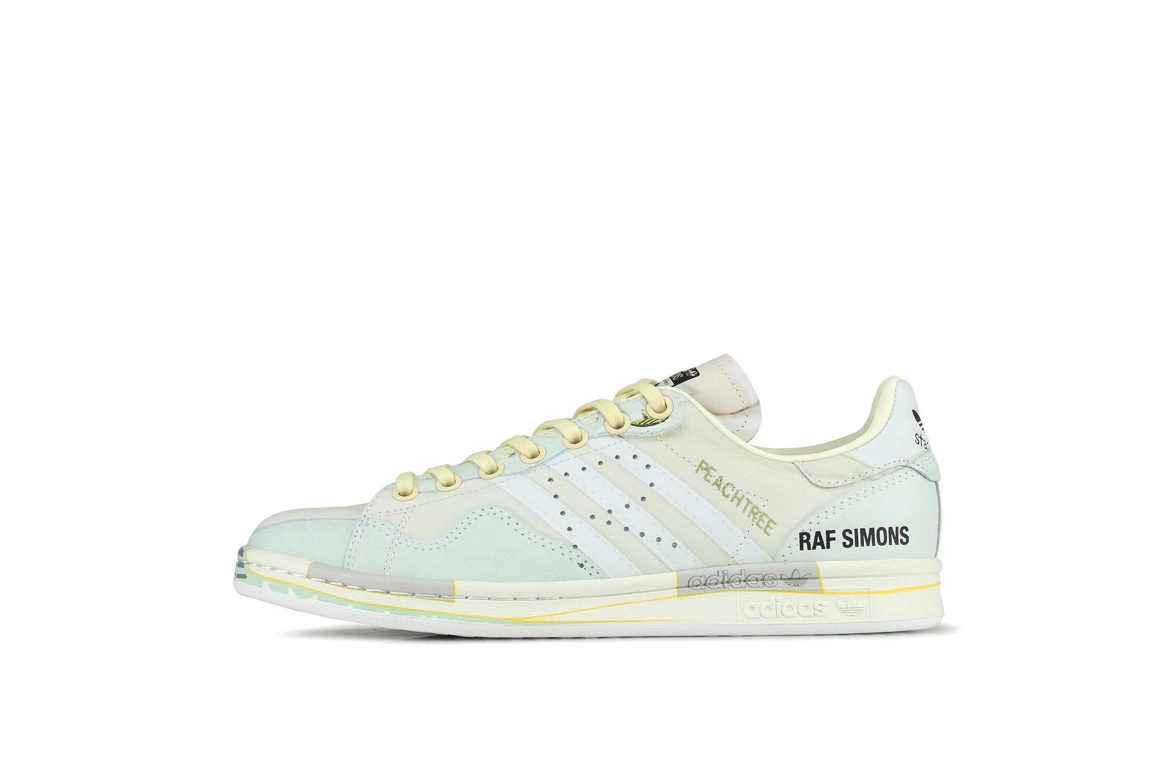 1842f74dfc75 Adidas Peach Stan Smith x Raf Simons