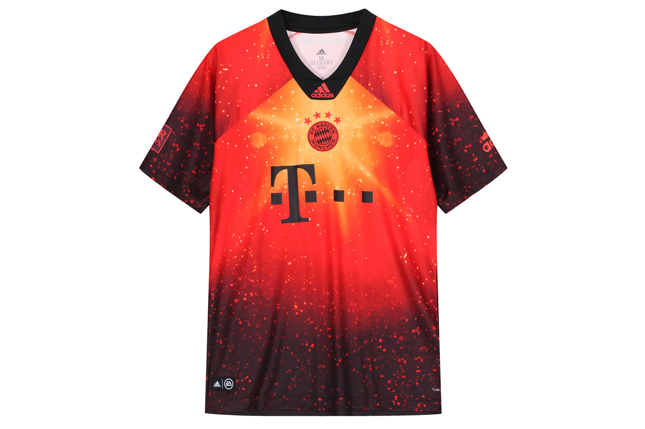 hot sale online 96611 040b8 Adidas Bayern Munich EA Football Jersey