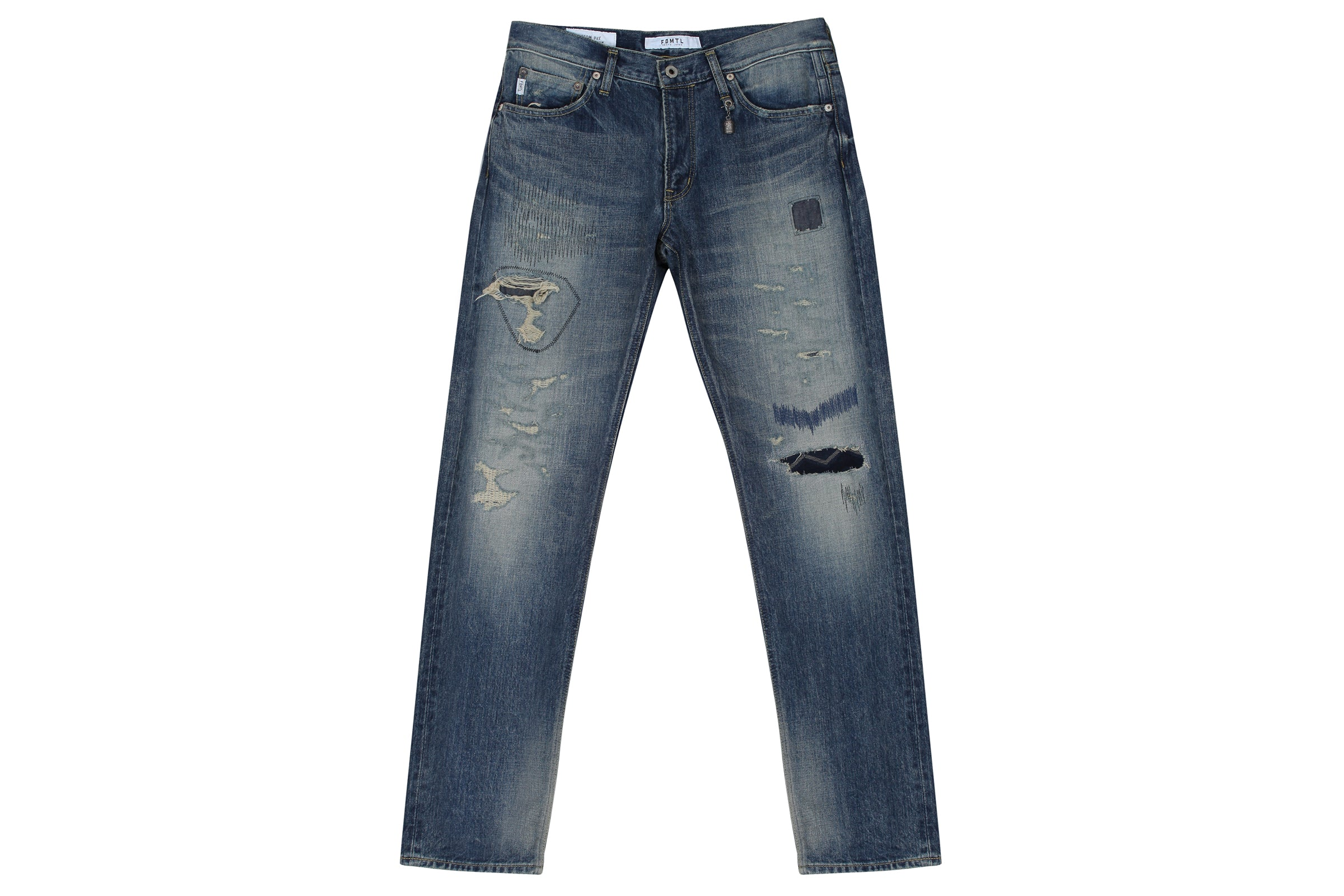 FDMTL Slim Fit Straight Denim CS65