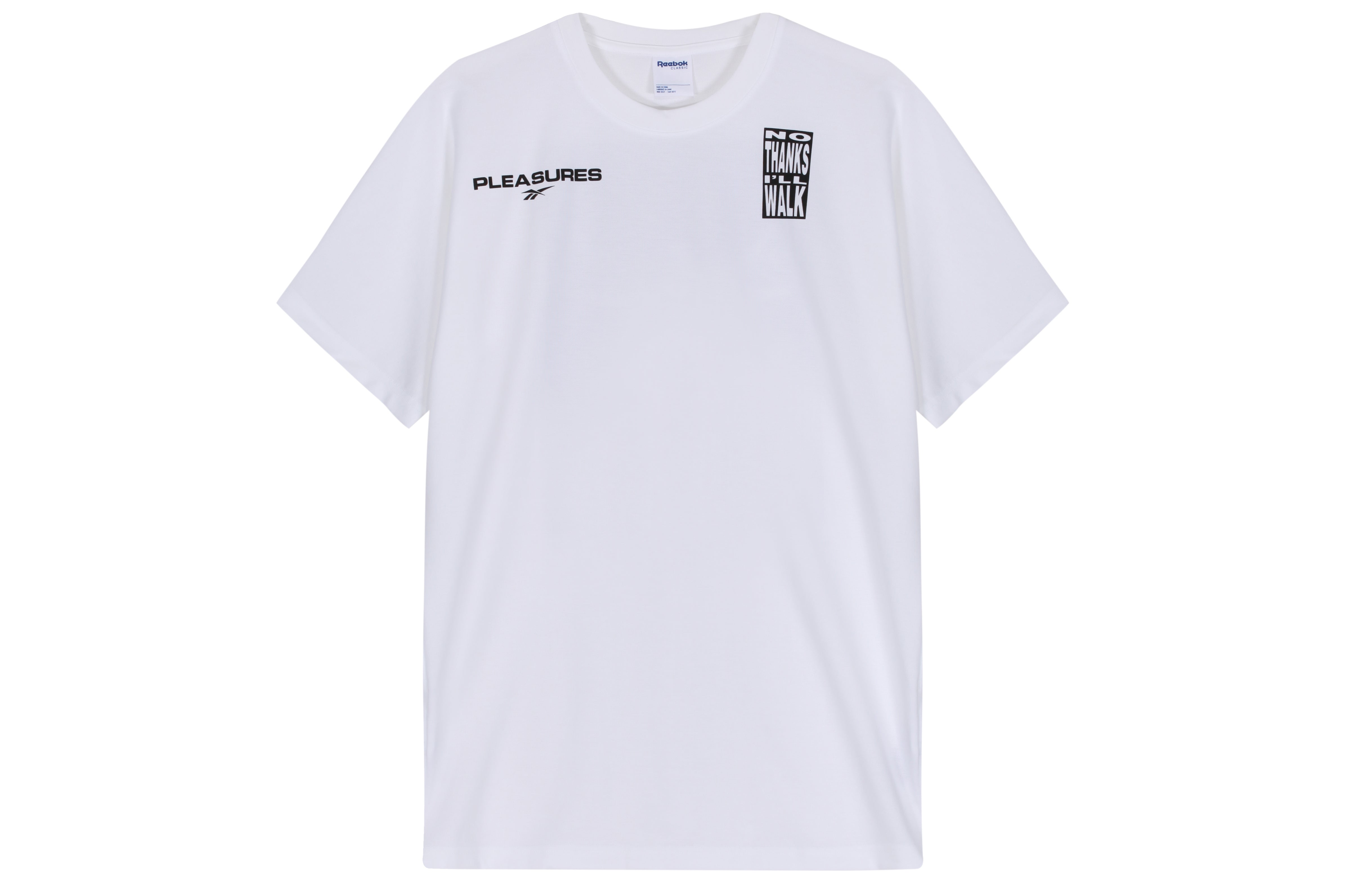 Reebok Classics Vector Tee 1 x Pleasures