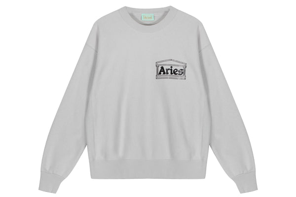 Aries Classic Temple Crewneck Sweatshirt