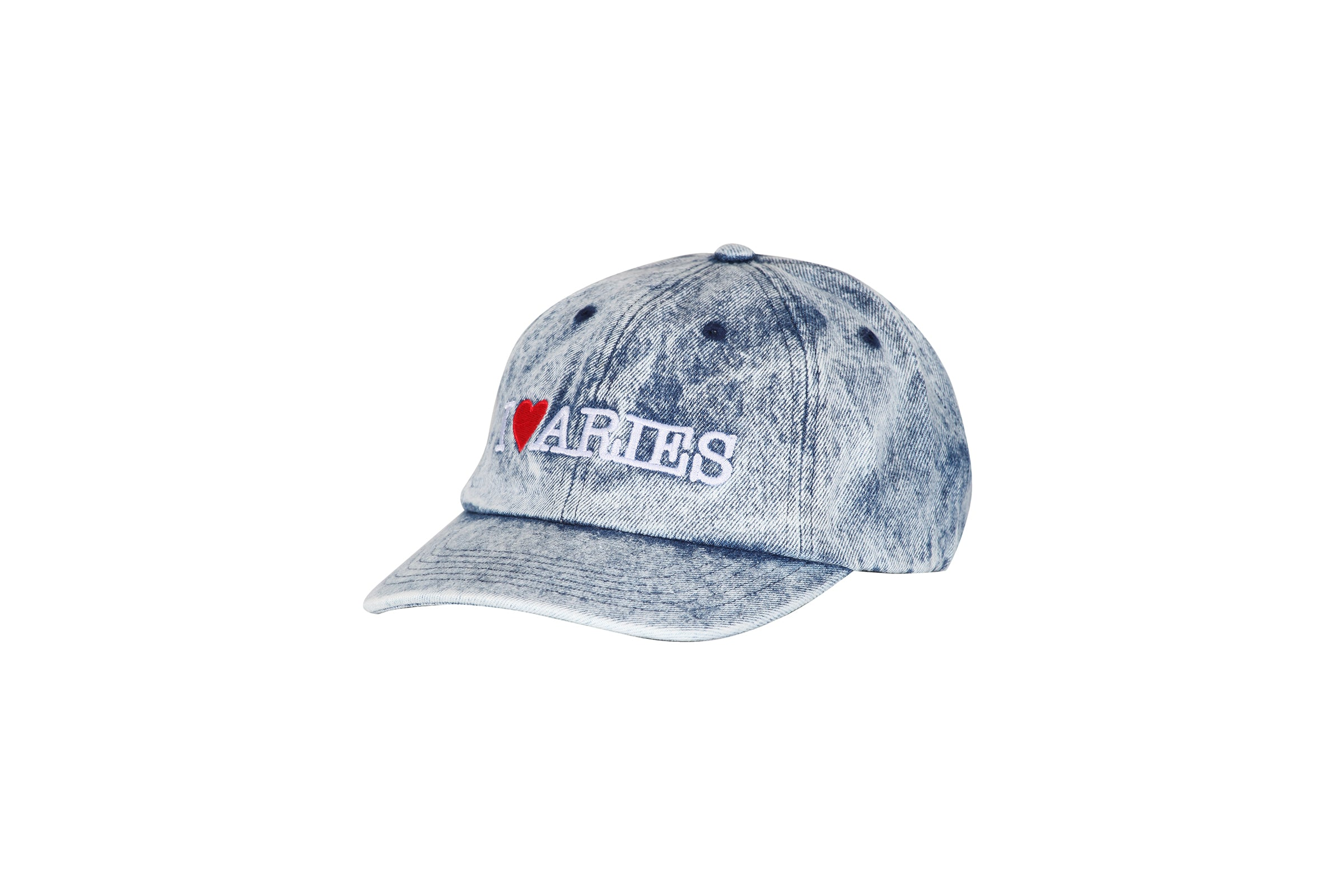 Aries I Heart Aries 6 Panel Cap