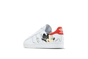 "Adidas Superstar ""Mickey Mouse"""