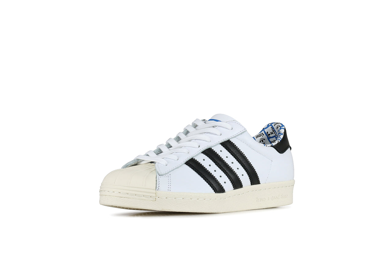 Tênis Adidas Superstar 80s Branco B37995 no Shoptime