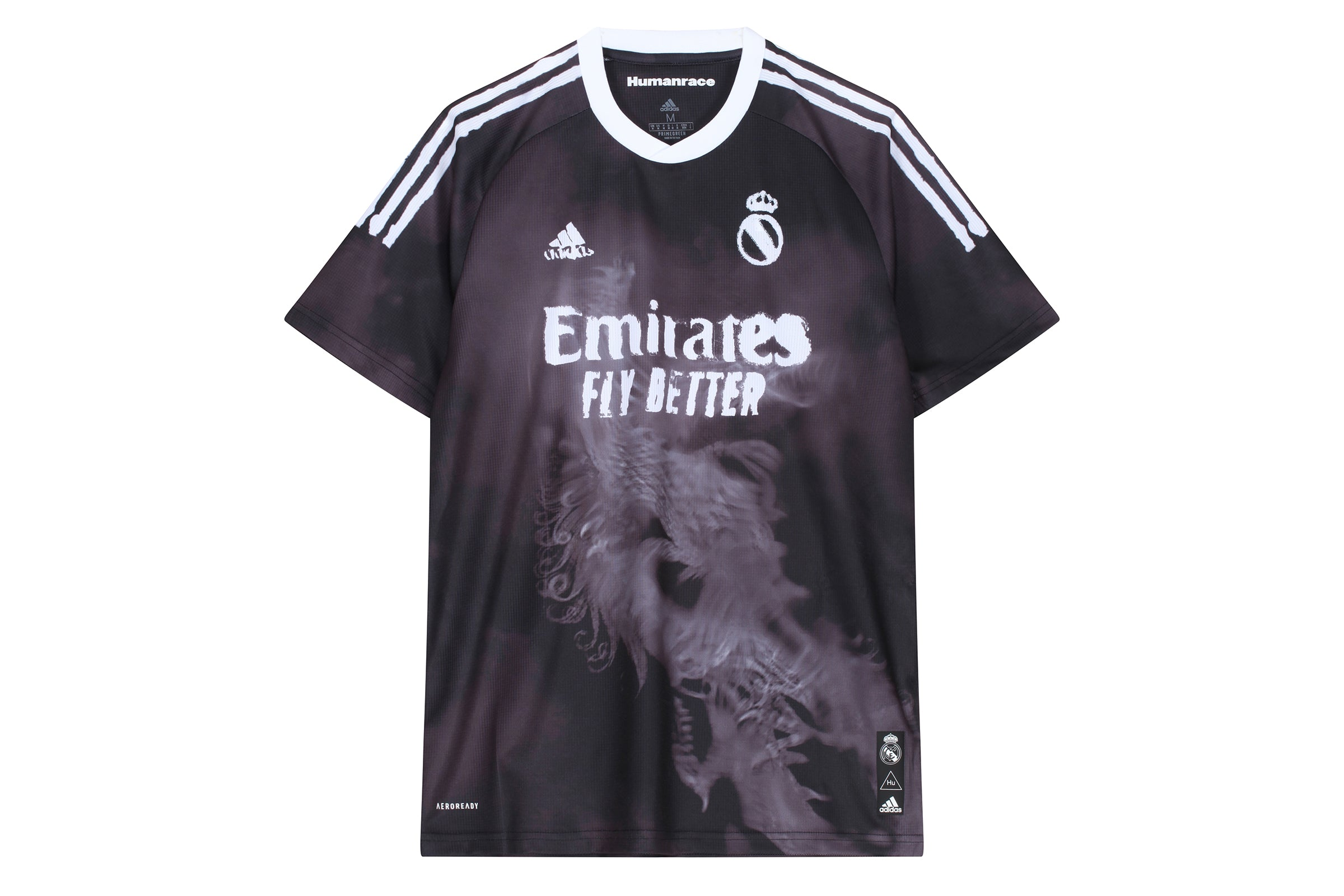 Adidas Real Madrid Human Race Jersey x Pharrell Williams