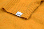 "Hanon Classic Wool Knit ""Warm Yellow"""
