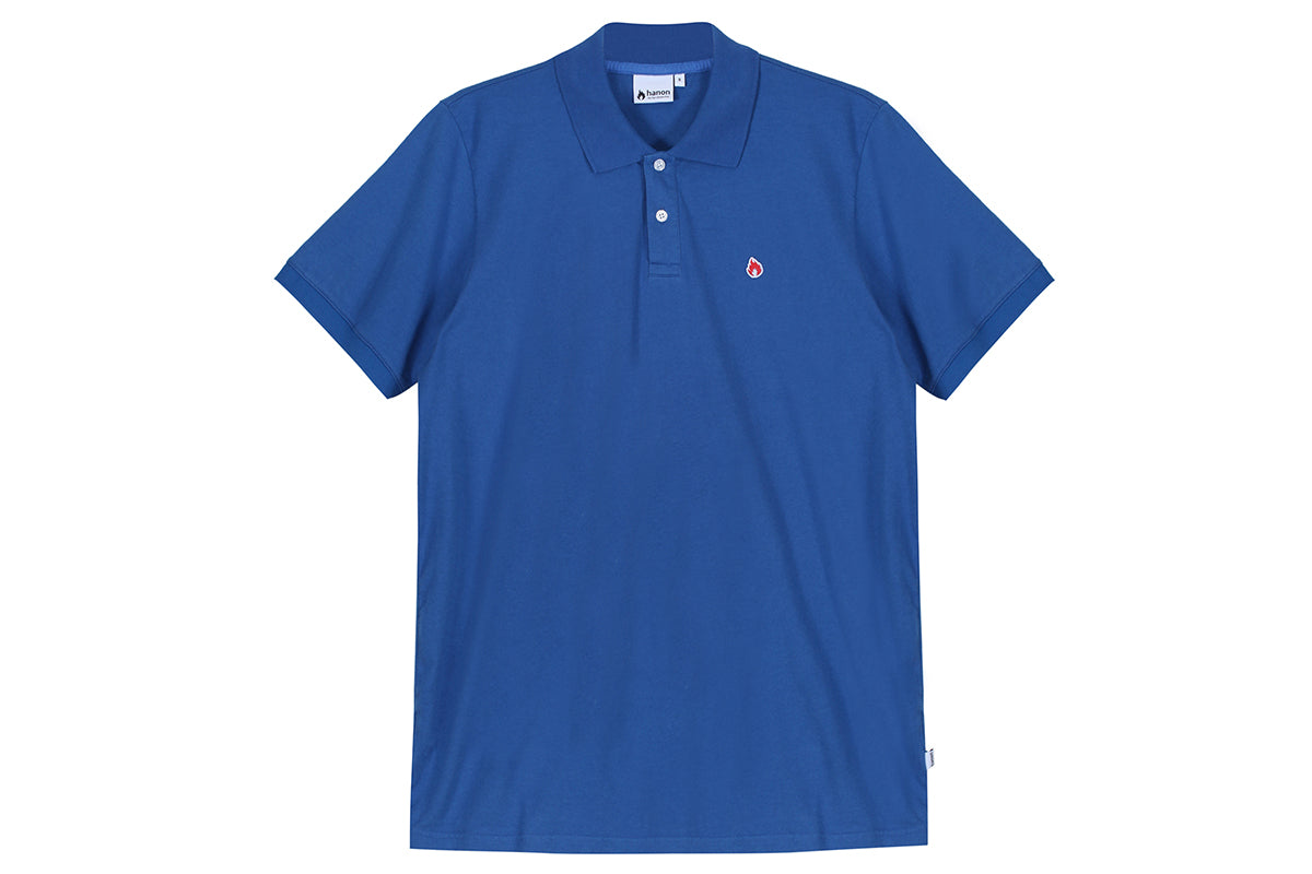 "Hanon Jersey Polo Shirt ""Royal Blue"""