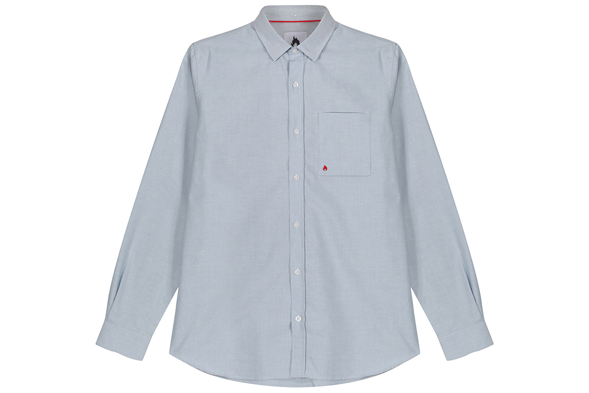 "Hanon Oxford Shirt ""Light Blue"""