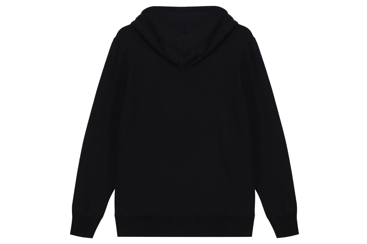 "Hanon Bar Logo Hooded Sweatshirt ""Black"""