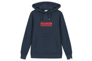 "Hanon Bar Logo Hooded Sweatshirt ""Petrol Navy"""