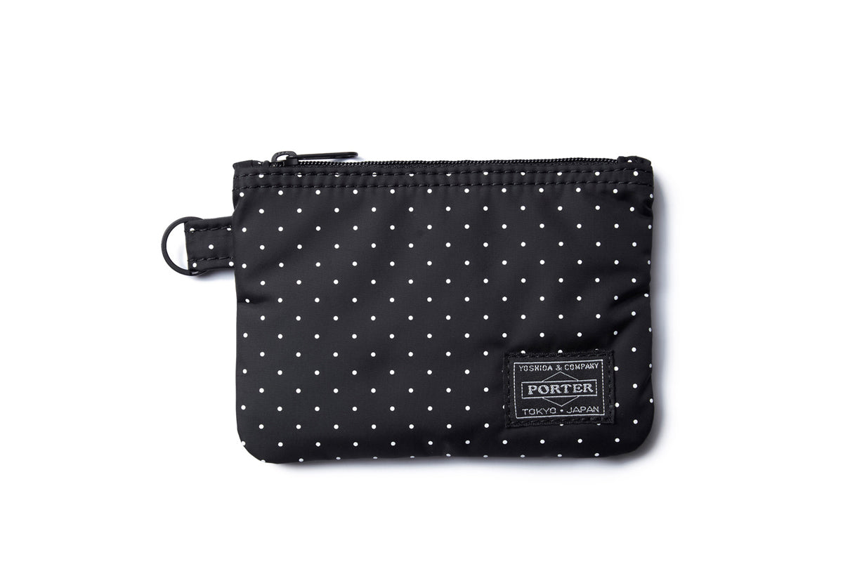 Head Porter Dot Zip Wallet BK