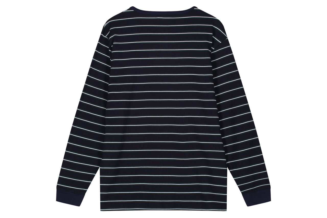 Head Porter Plus Border L/S Tee