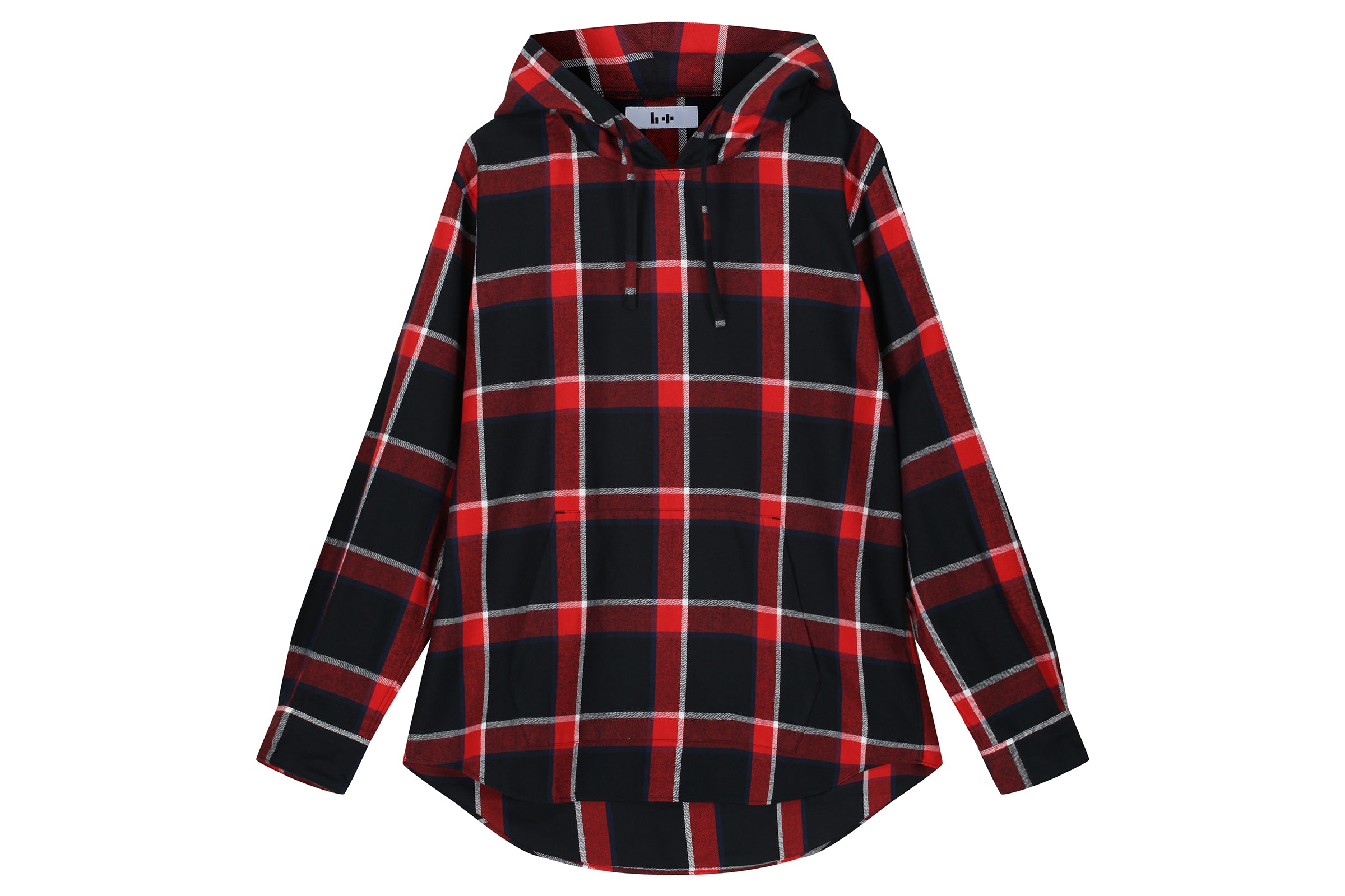Head Porter Plus Check Hoodie Shirt