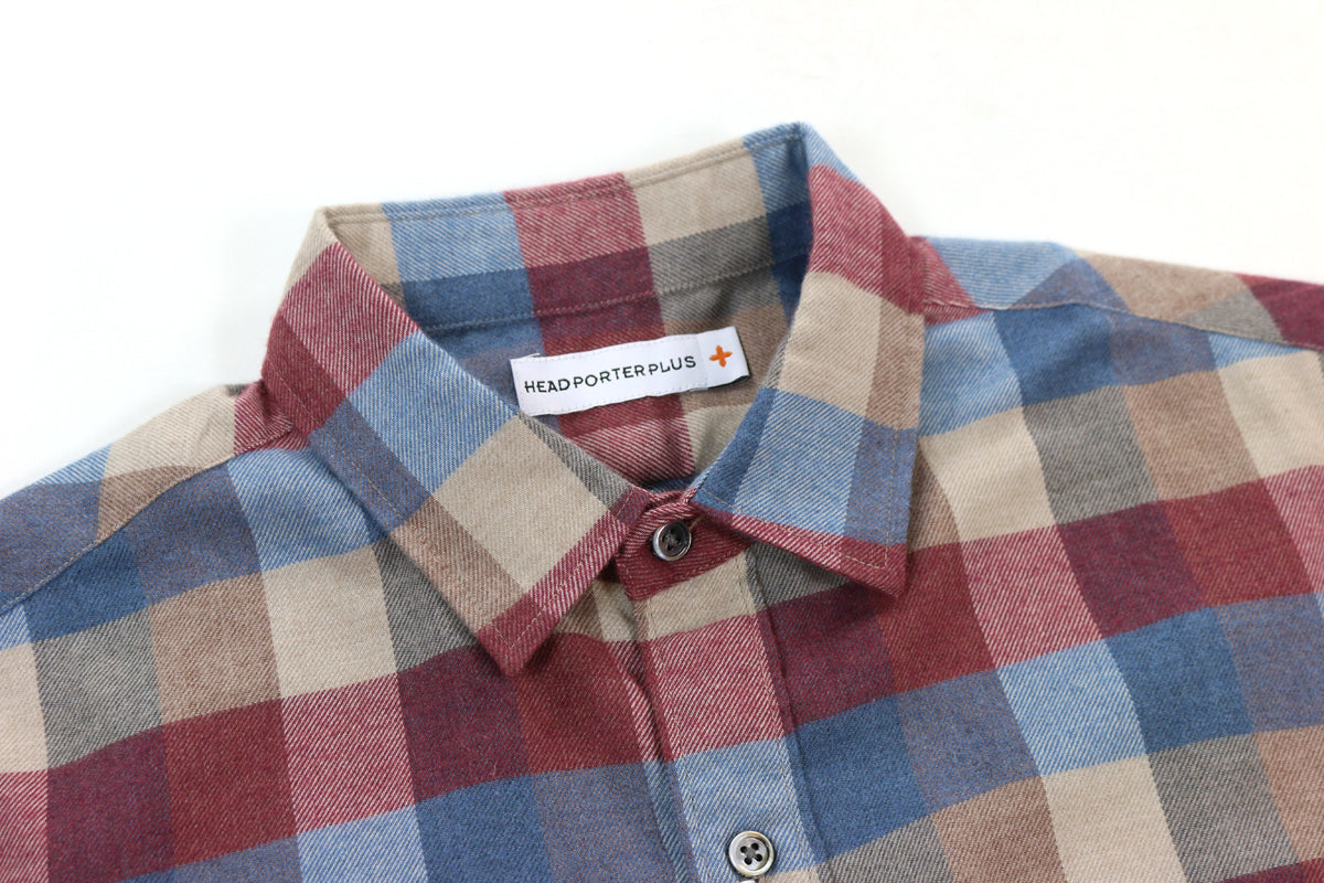 Head Porter Check Shirt