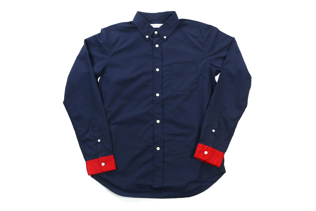 Head Porter Red Cuffs Shirt