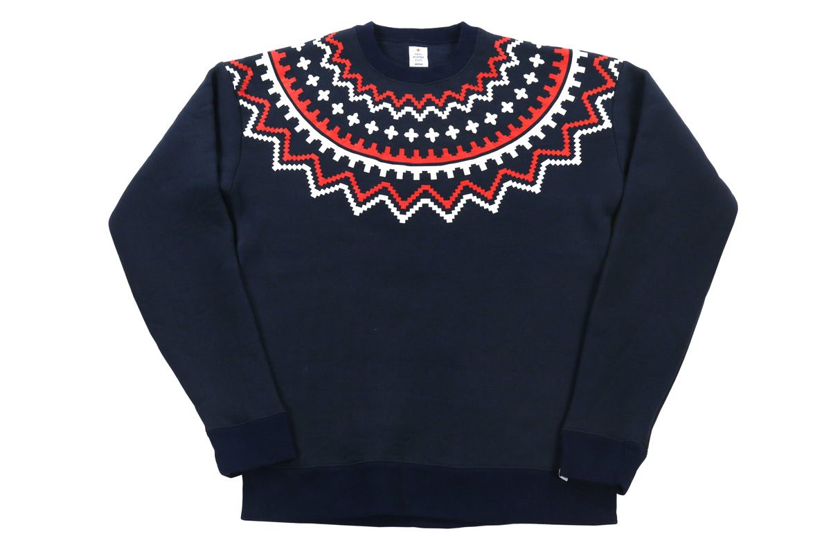 Head Porter Nordic Print Sweat Shirt
