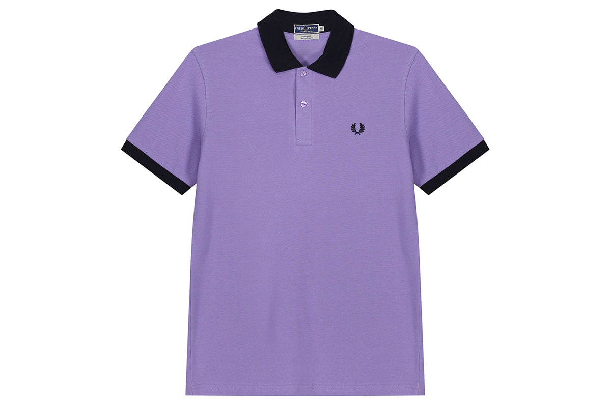 Fred Perry Contrast Rib Pique Shirt