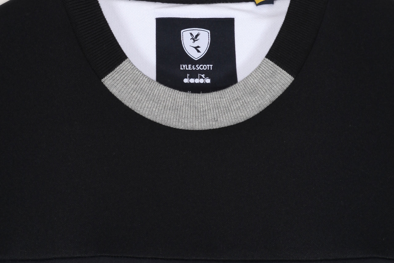 Diadora Printed Colourblock Sweatshirt x Lyle & Scott