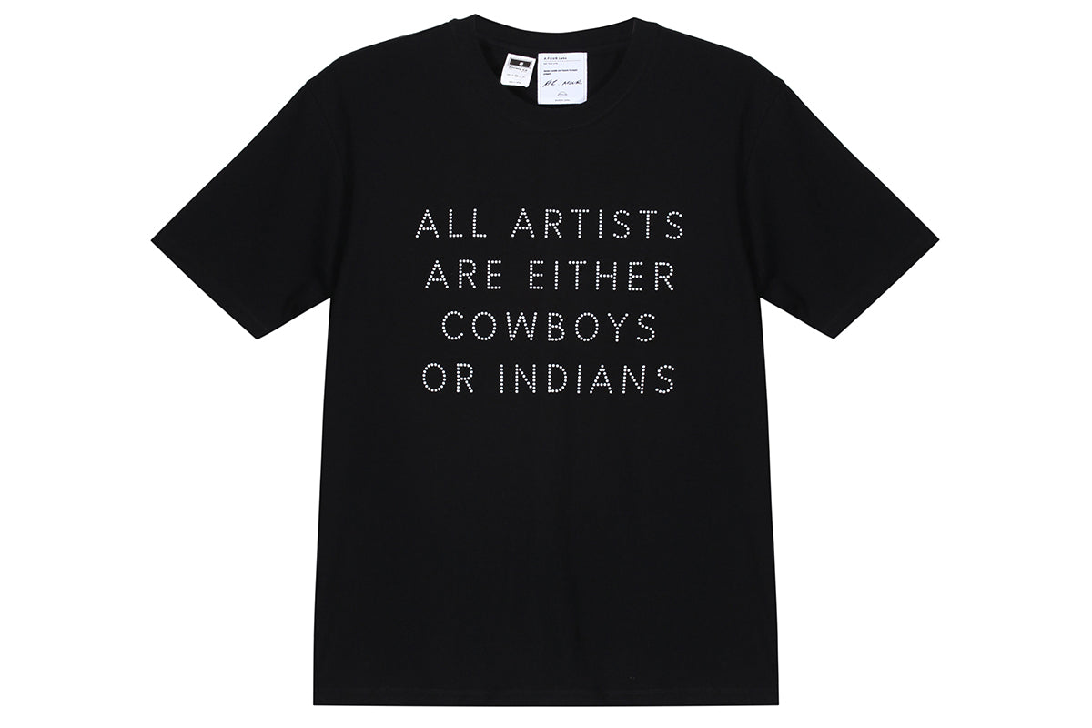 A.Four x Unkle Cowboys Or Indian Tee