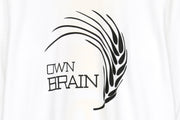 A.Four x Ownbrain Feather Long Sleeve Tee