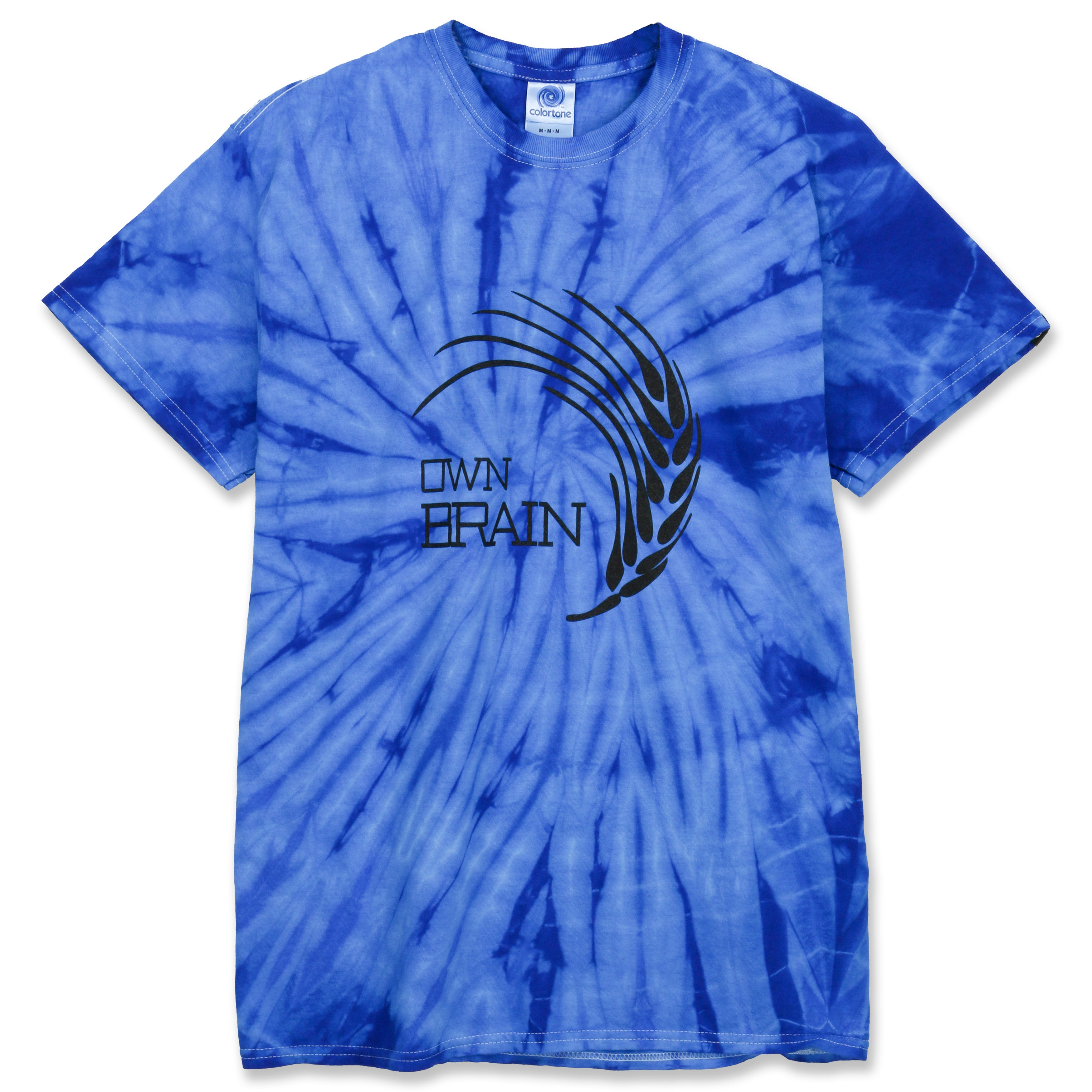 Ownbrain Feather Logo Tie Die Tee