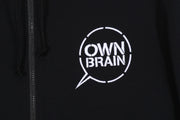 Ownbrain Zip Hooded Sweatshirt