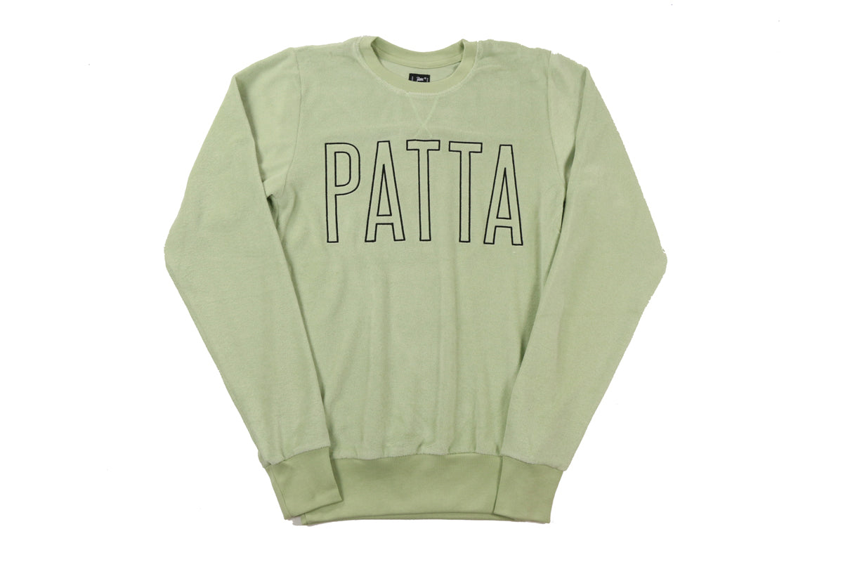Patta Front Logo Terry Crewneck Sweater PI