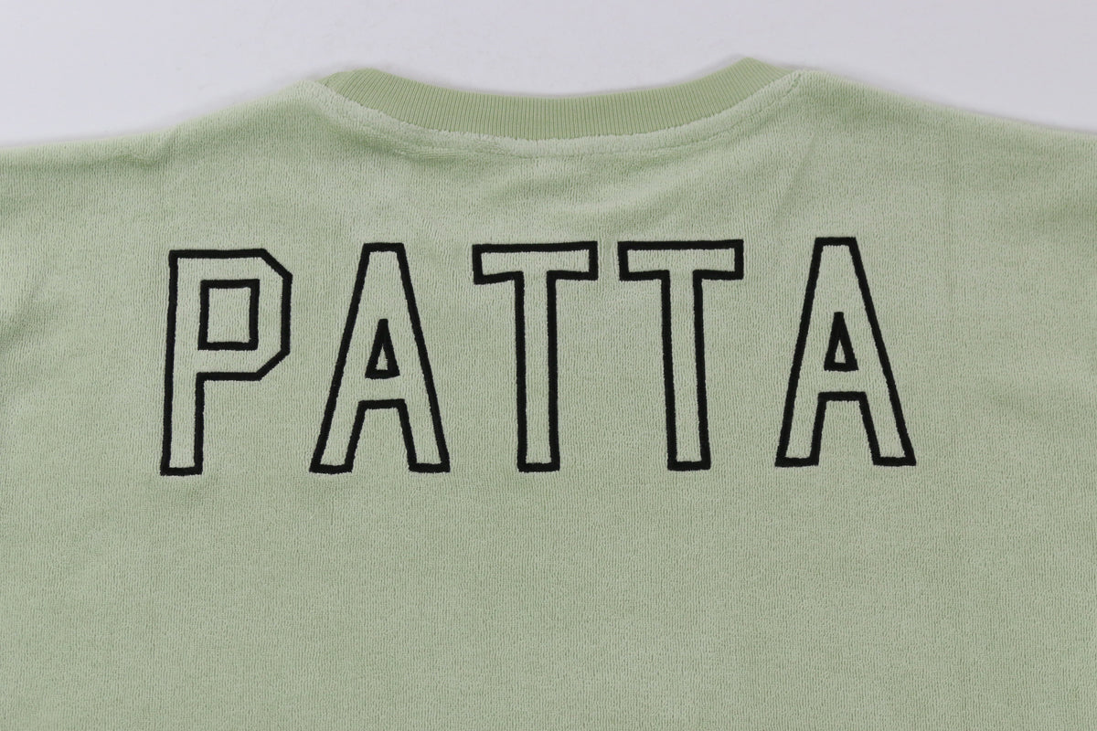 Patta Back Logo Terry T-Shirt PI
