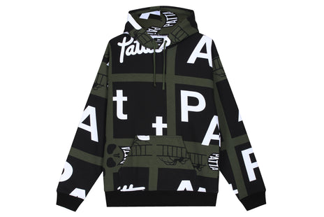Patta Spider AOP Hooded Sweater