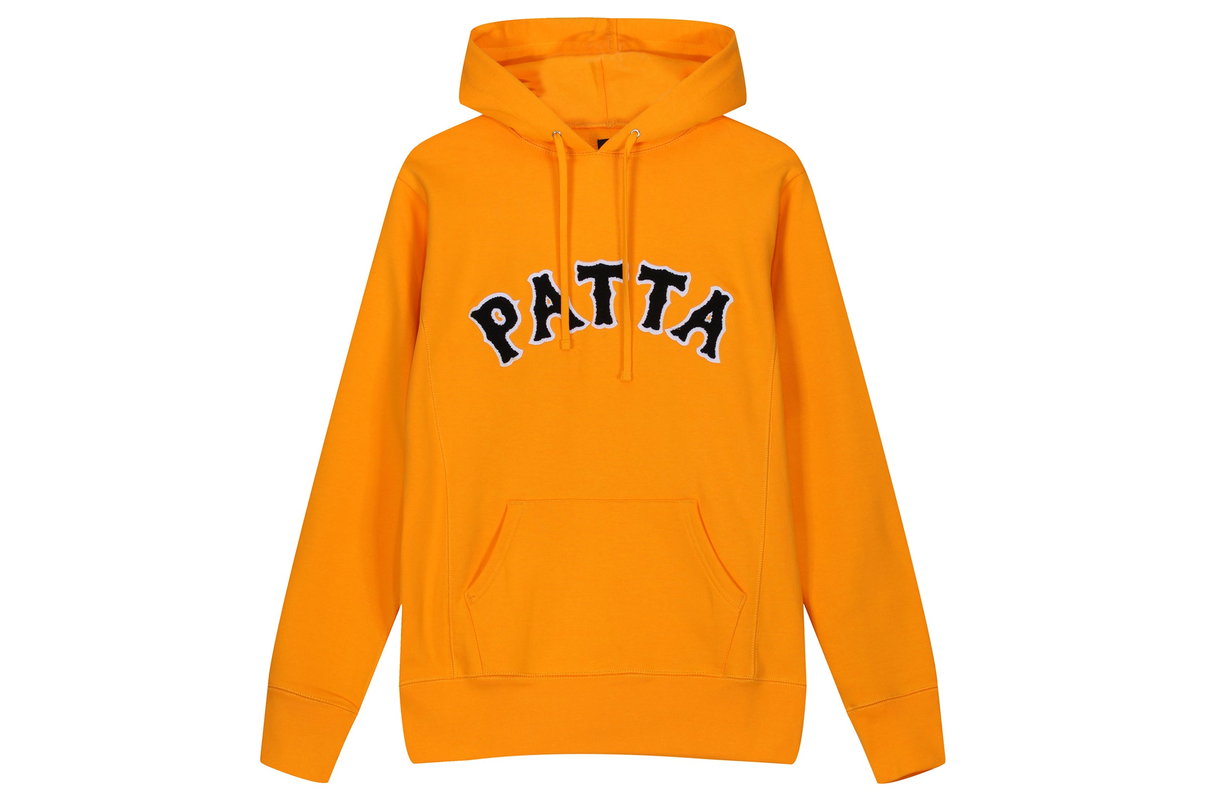 Patta Biker Logo Hooded Sweatshirt
