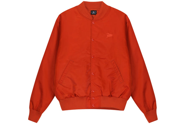 Clothing, Shoes & Accessories Men's Clothing Vintage Champion Running Man Size Medium Red Fleece Lined Jacket Snap Front