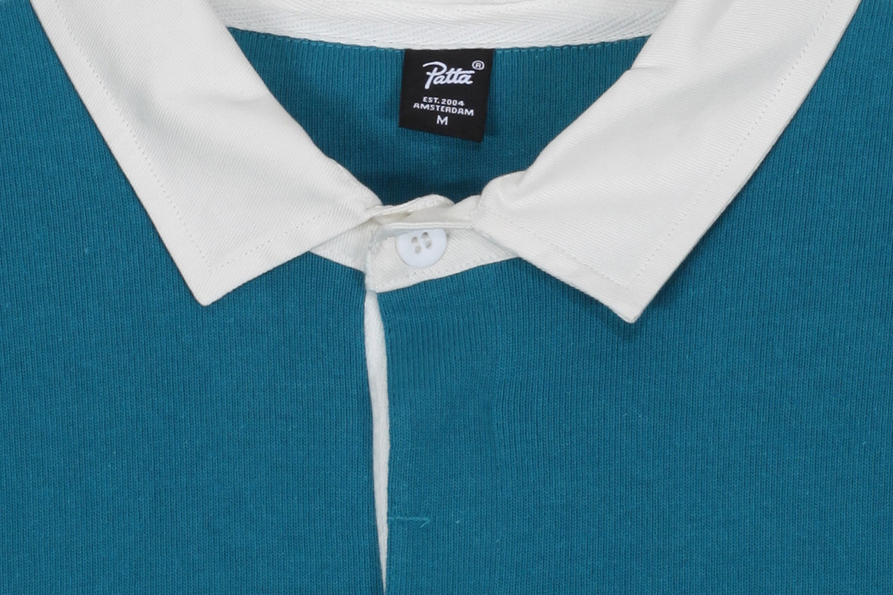 Patta Headless LS Rugby Polo Shirt
