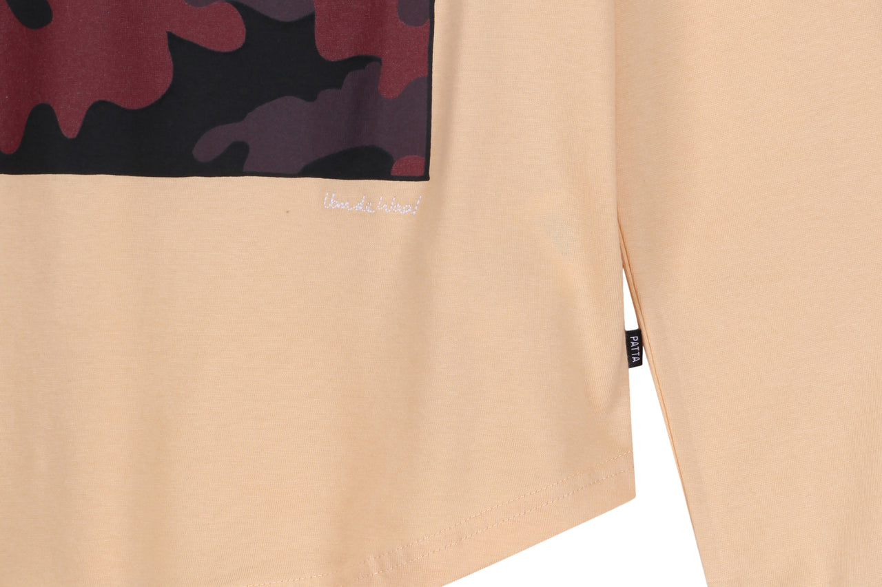 Patta Curved Hem Colonel Pharaohe LS Tee