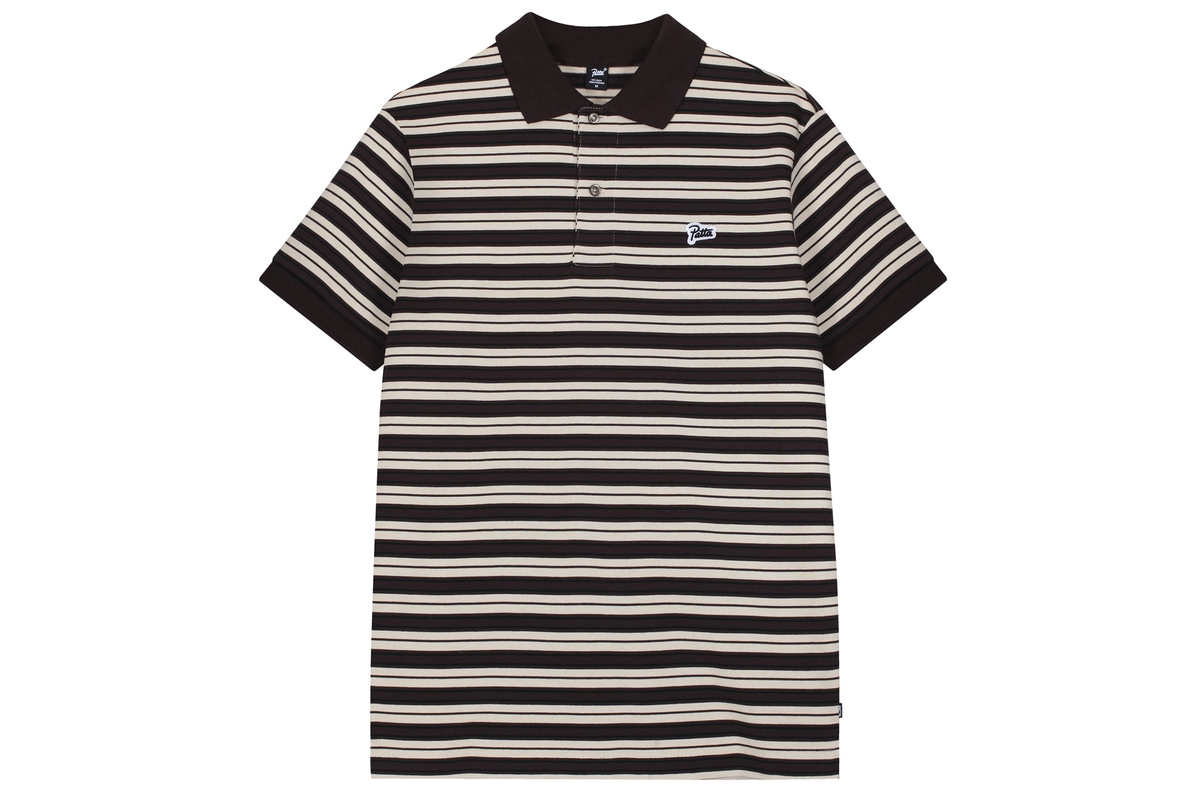 Patta Striped SS Polo